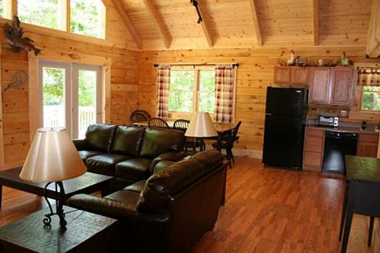 cabin interior log cabins luxury harman fishing virginia west children availability check rooms adults