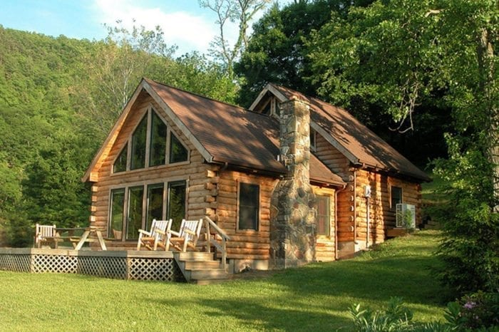 Welcome to harman 39 s luxury log cabins premier west for Large log cabin homes