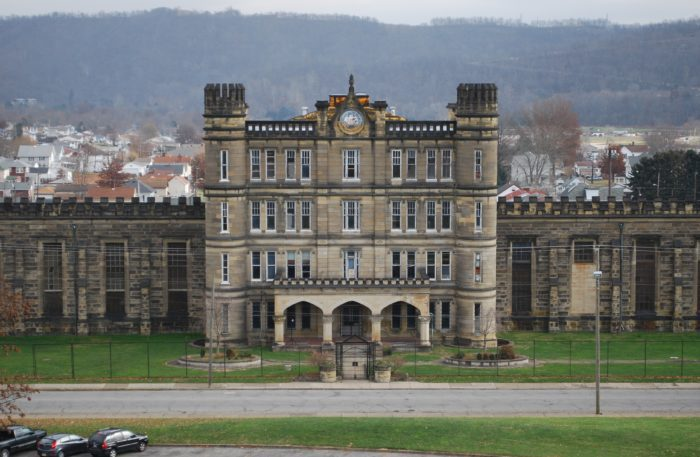 west virginia state penitentiary exterior